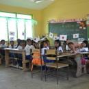 ネグロス東州、ホマイホマイ村の子供たちは 新しい教室で勉強を始めています。【231号】