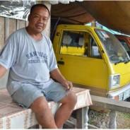 東ネグロス州からボイ・カトウバイさんが来日、 バナナ生産者の自立を目指した奮闘について報告しました。