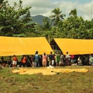 ネグロス東州地震被災者支援活動報告