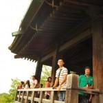 バナナ生産者交流会 京都清水寺の舞台から