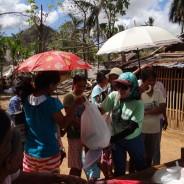 台風30号ヨランダ被災者(パナイ島)に緊急救援実施~ATJ現地駐在スタッフが同行~(第5報)