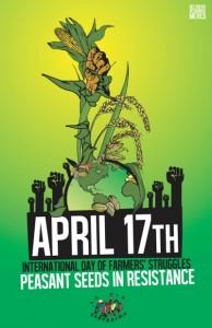Via Campesina 種子の権利を守る国際行動 2014/4/17