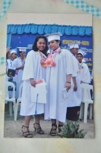 長女リゼルの大学の卒業式