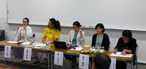 関根さんと4人のコメンテーター