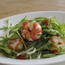 エコシュリンプと夏野菜のオリーブオイルマリネ