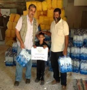 飲料水の支援