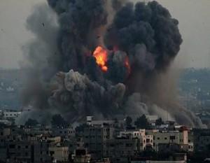 イスラエル軍による攻撃