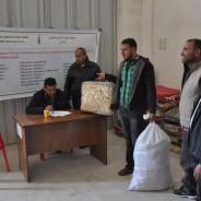 パレスチナ・ガザ地区支援活動報告~日本からの第一回めの送金額で、600家族を越える人々に生活必需品が届けられました~