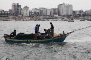 ガザの漁民
