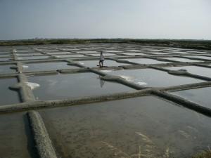オイエと呼ばれる採塩池