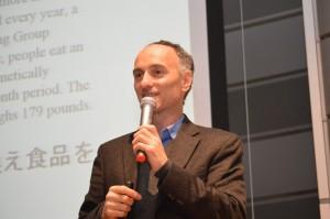 東京でのジェフリーさんの講演
