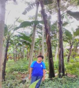 アントニア・エンラワンさん/キガウハット地区バランゴンバナナ生産者