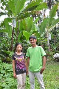 ツピのバランゴンバナナ生産者