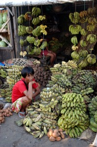 ネグロスのバナナ屋さん