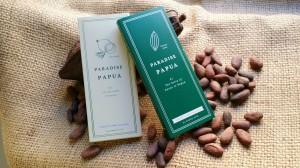 パプアでの挑戦が形になった「PARADISE PAPUA パプア クラフトチョコレート」