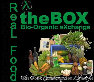 """2013年から試験的に開始している宅配事業""""the BOX (Bio-Organic eXchange)"""""""
