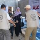 【ガザ救援カンパ】食料配布支援が始まりました。